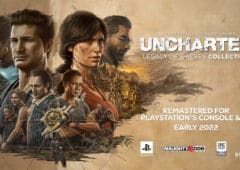 uncharted 4 et lost legacy PS5 PC