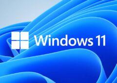 windows onze message alerte