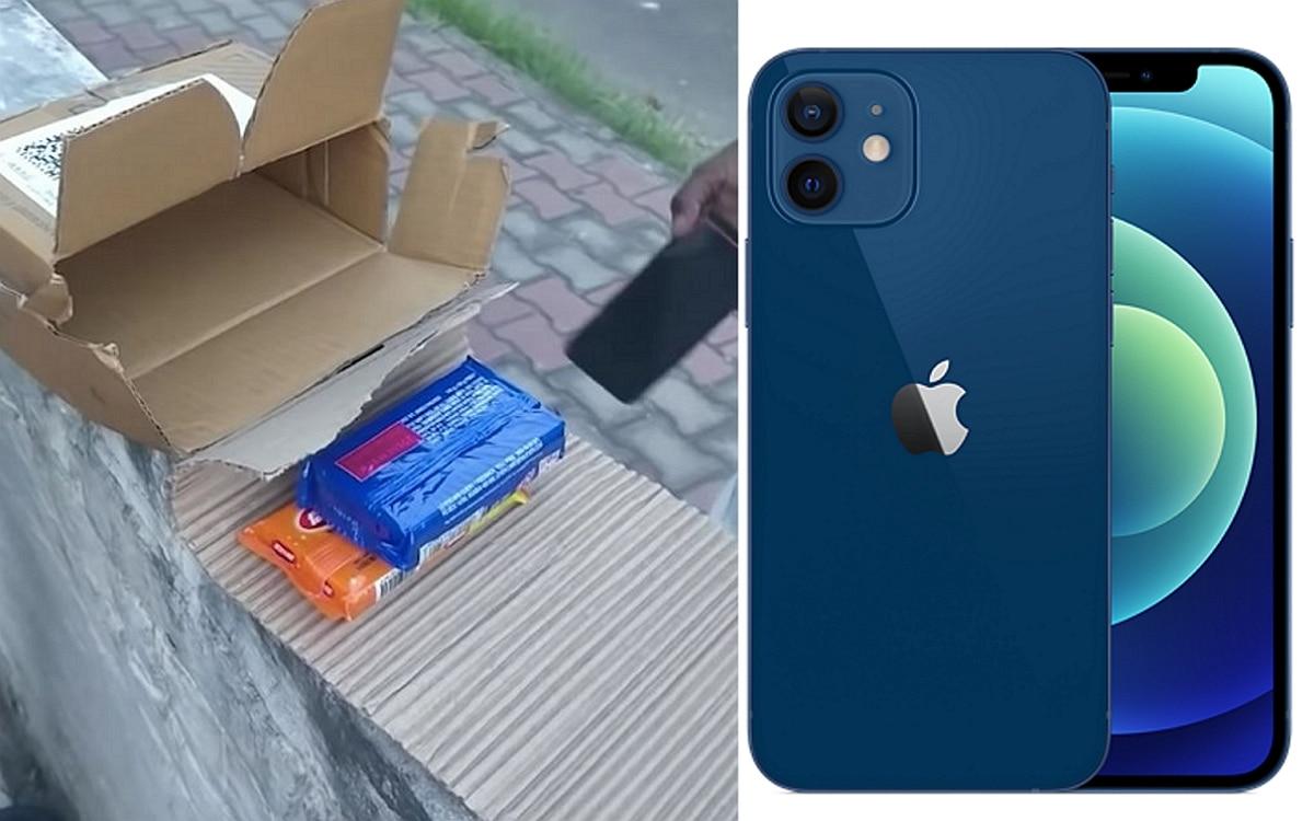 Du savon à la place d'un iPhone 12