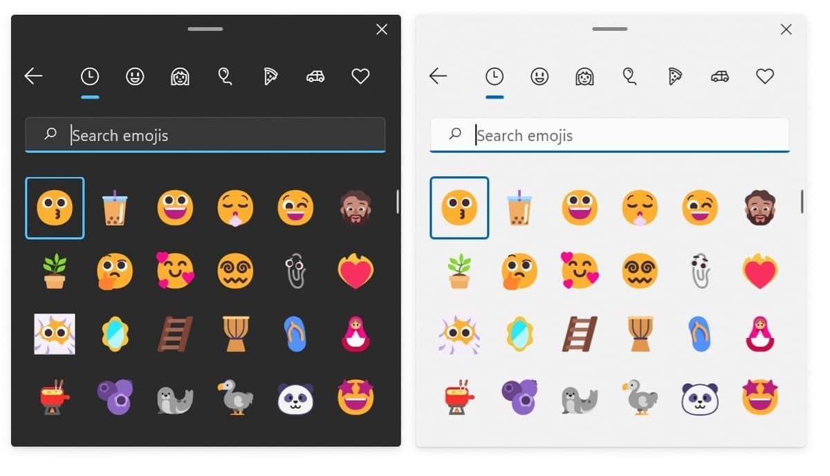 Emojis Windows 11