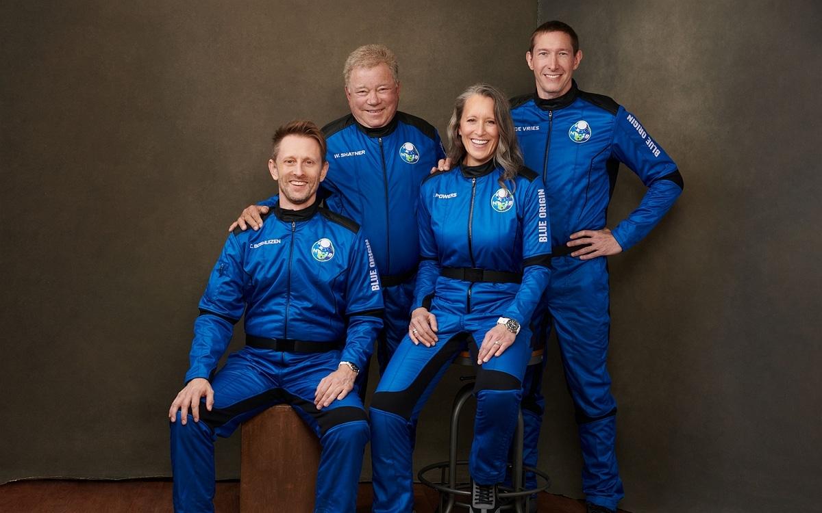 Equipage de la mission NS-18 Blue Origin