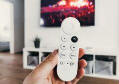 Google TV télécommande