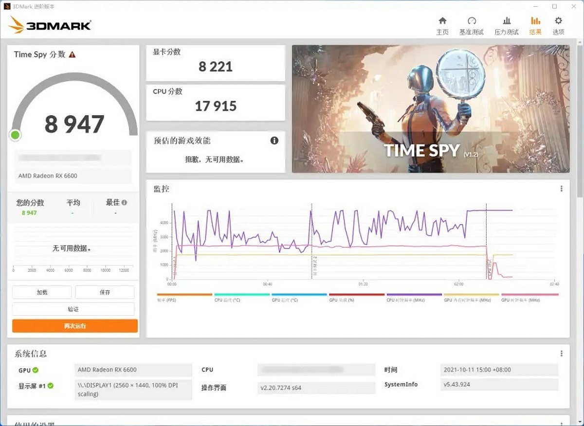 Intel-Core-i9-12900K Time Spy