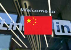 Linkedin ferme en chine