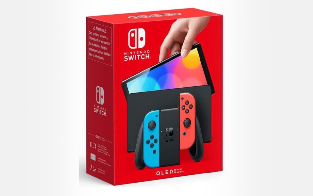 Nintendo Switch OLED pas chère