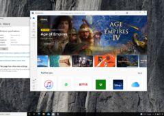 Nouveau Microsoft Store sur Windows 10