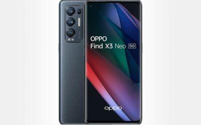 OPPO Find X3 Neo en promotion