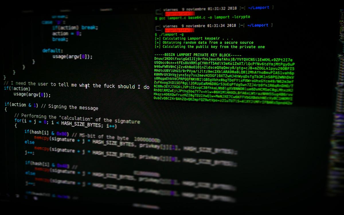 Ordinateur PC Piratage