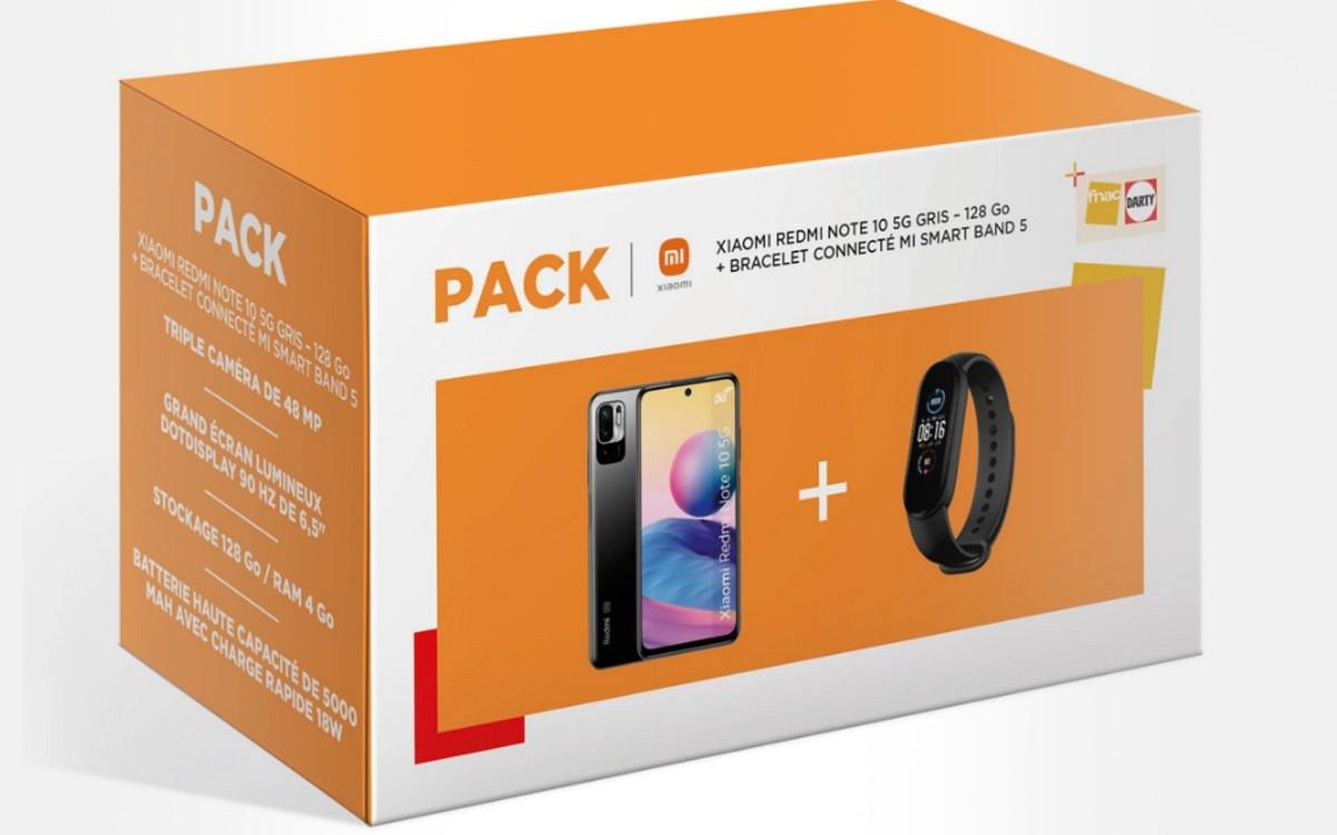 Pack Darty Xiaomi Redmi NOte 10 5G