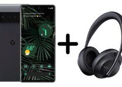 Pixel 6 Pro et Bose Headphones 700