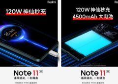 Redmi Note 11 4500mAh 120W