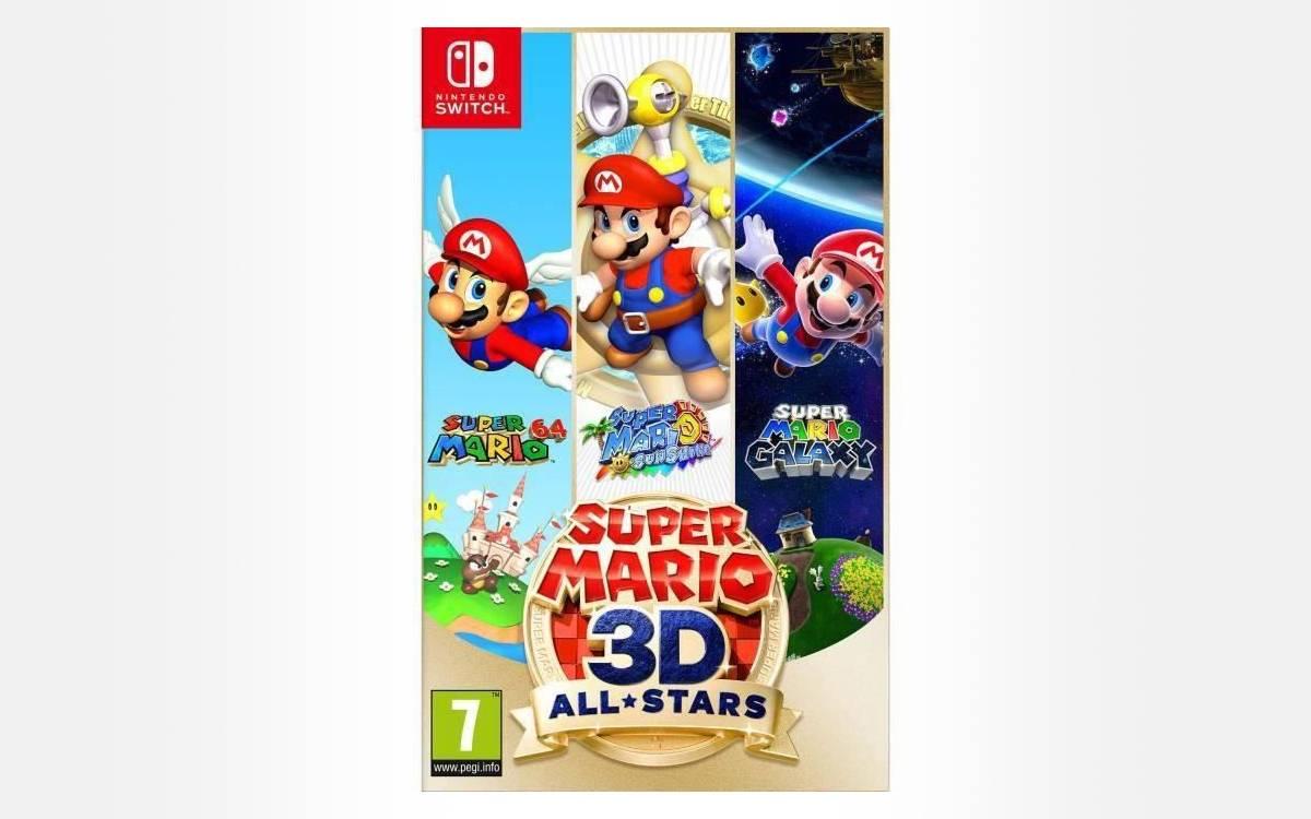 Super Mario 3D-All Stars à prix réduit
