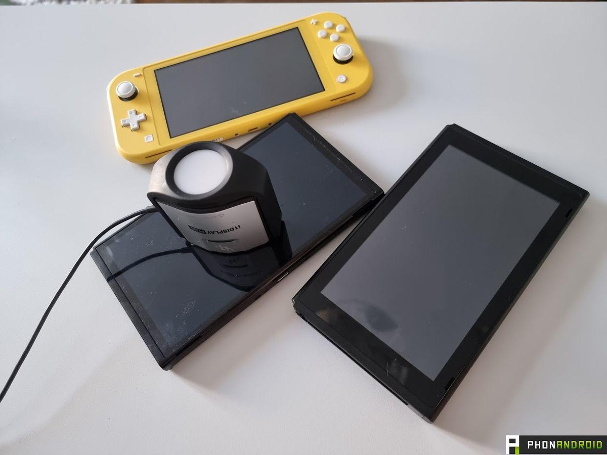 Switch OLED vs Switch