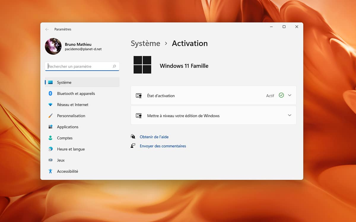 Windows 11 Famille