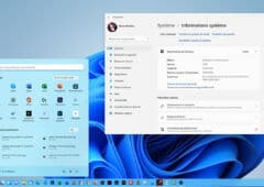 Windows 11 Informations systeme