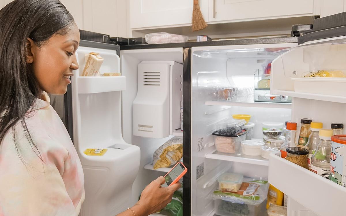 amazon frigo connecté