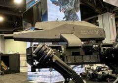 chien robot fusil assaut
