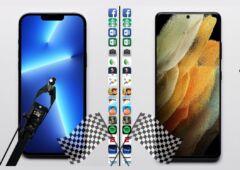 iPhone 13 Pro Max vs Galaxy S21 Ultra