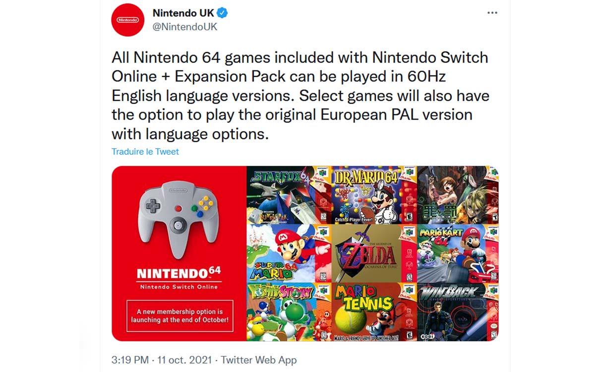 n64 nintendo switch
