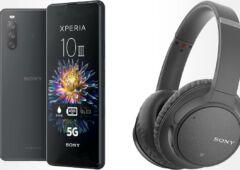 pack Sony Xperia 10 III WH CH710N