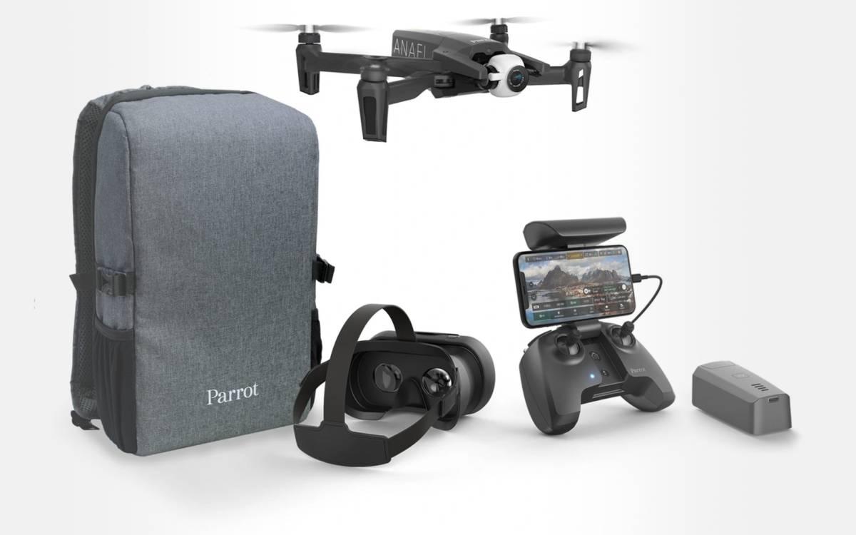 pack drone Parrot Anafi à prix réduit
