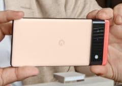 pixel 6 prise mains