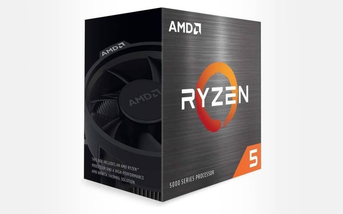 processeur AMD Ryzen 5 5600G Box à un bon prix
